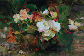 Begonias-By-Richard-Schmid