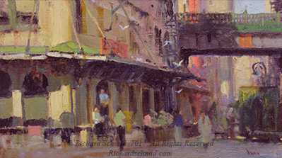 Click Here to view larger image of 12th Street Warf by Richard Schmid