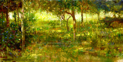 Click Here to view larger image of Captain John's Orchard by Richard Schmid