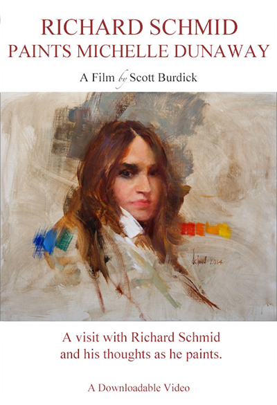 Richard Schmid Paints Michelle Dunaway;