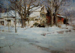 Snow Maples by Richard Schmid