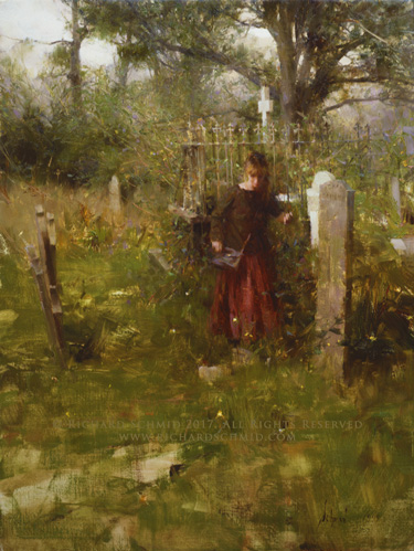 Click Here to view larger image of Dalmally Churchyard by Richard Schmid
